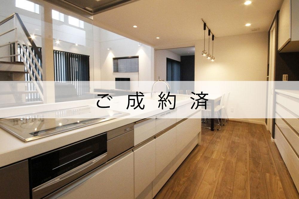 【ご成約済】苫小牧モデル「ノアール1000」中2階にスタディコーナーのある家 - 王子ガーデンへ!