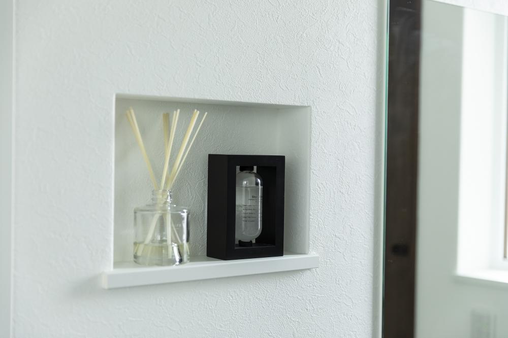 ニッチ - 玄関にアクセントを添えるニッチ(飾り棚) -  -