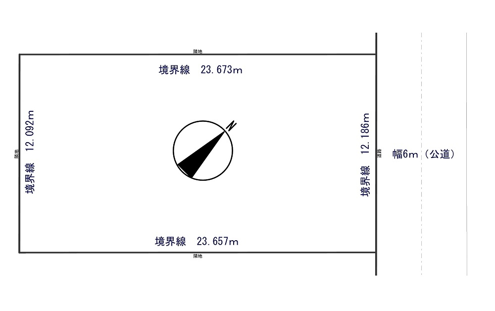 【売地】江別市上江別南町22番4!(新規情報) -