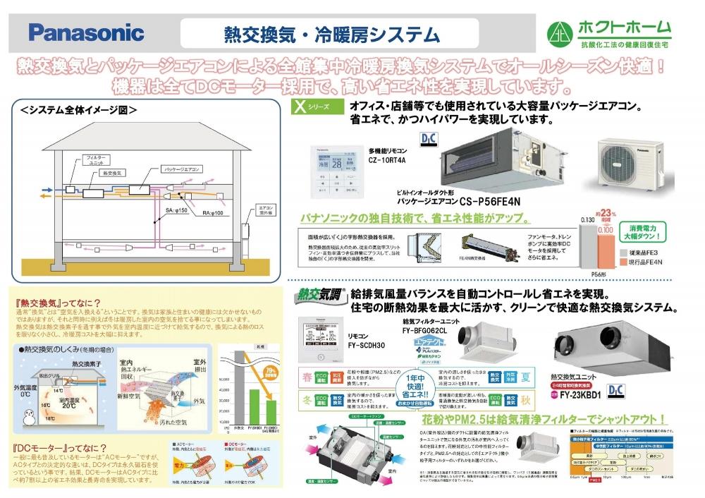 全室エアコン冷暖房換気システム -  -  -