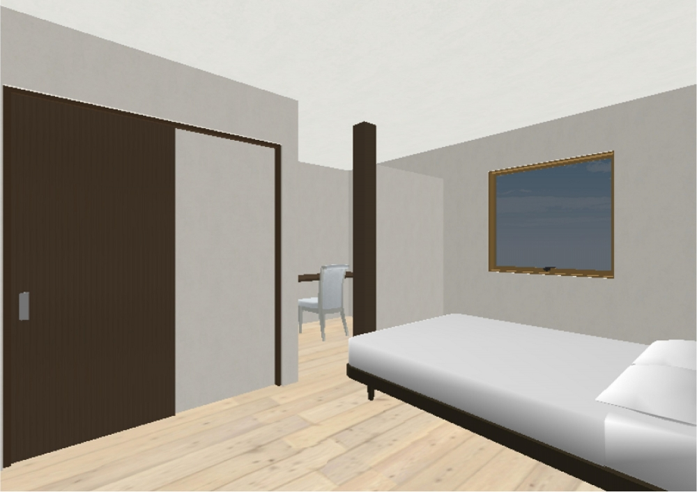 主寝室 -  -  -