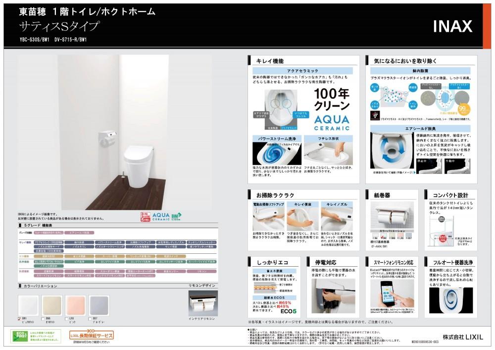 トイレ(1F) -  -  -