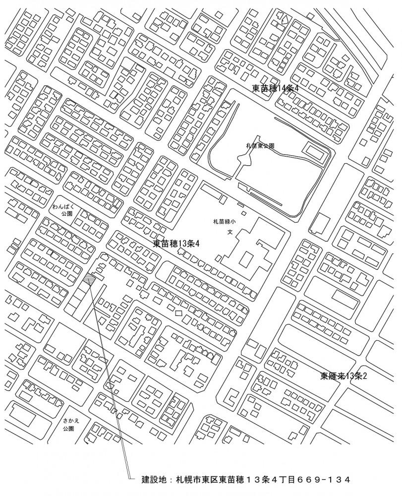 建築予定地MAP -  -  -