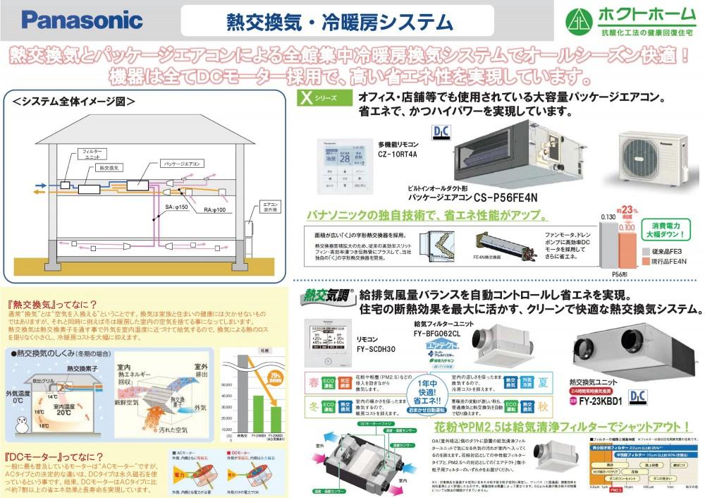全室冷暖房空調換気システム -  -  -