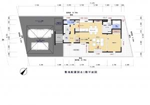 敷地配置図 -