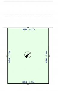 区画図 -
