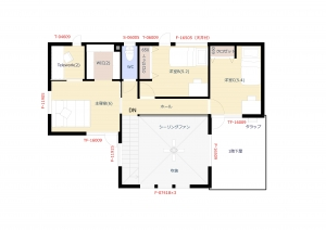 2階平面図 -