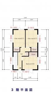 3階平面図 -