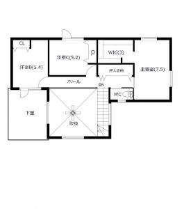 【参考プラン】2階平面図 -